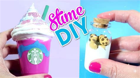diys to do haz slime frappe unicornio slime mantequilla fluffy