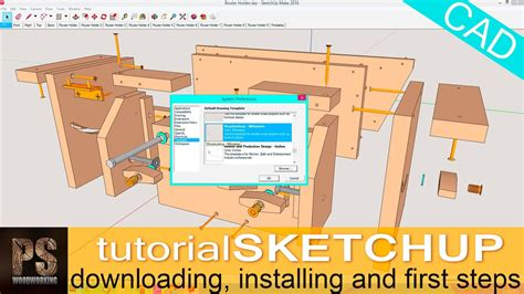 sketch  tutorial woodworking tutorials sketchup