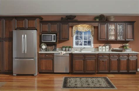 Deluxe Kitchen Cabinets by Deluxe Sedona Maple Kitchen Cabinetry Kitchen Cabinets