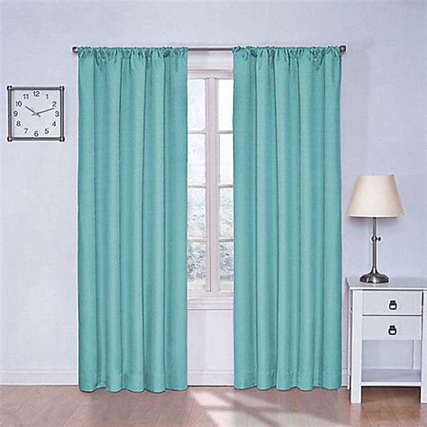 Insola Insulated Drapery by Insola Kate Rod Pocket Blackout Window Curtain Panels