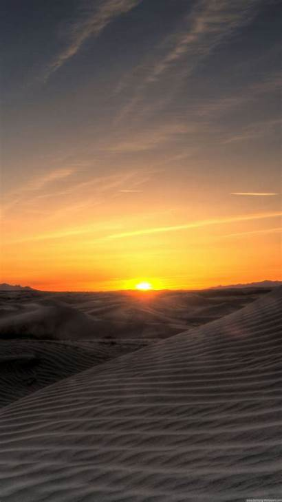 Desert Iphone Sunset Plus Chill Wallpapers Nature