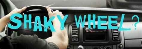 steering wheel  shake  driving