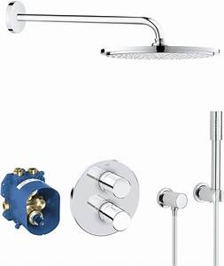 Grohe Grohtherm 3000 Cosmopolitan : grohe grohtherm 3000 cosmopolitan perfect shower ~ Watch28wear.com Haus und Dekorationen