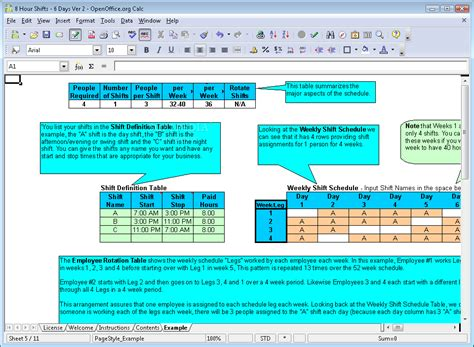 search results   hour rotating shift schedules