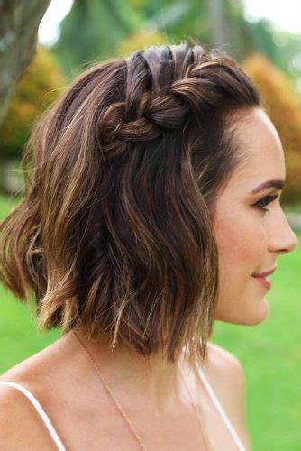 30 cute braided hairstyles for short hair lovehairstyles com