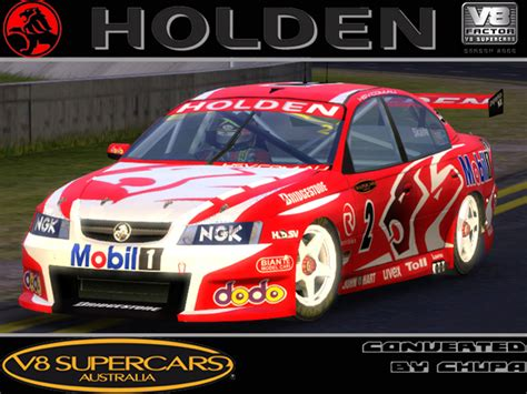 Trackmania Carpark • 3d Models • Holden V8 Supercars Skaife