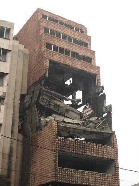 crumbling building photo