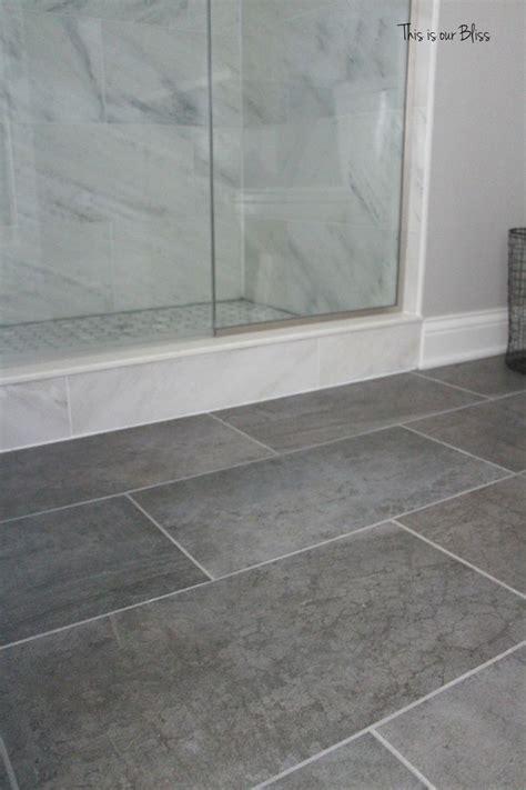 gray tile floors ideas  pinterest white
