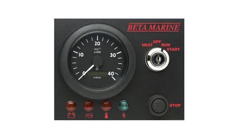 seagoing control panels beta marine