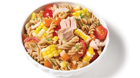 salade de p 226 tes de ma 239 s et de thon