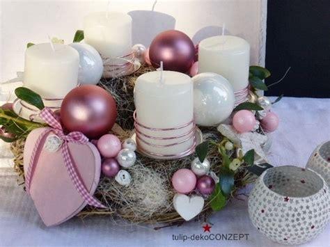 adventskranz 2017 farben adventskranz rosa herzl projet vitrine