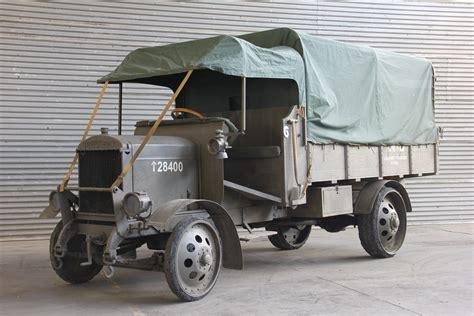 thornycroft truck type military army british thorneycroft aviator reproduction 1916 thevintageaviator nz