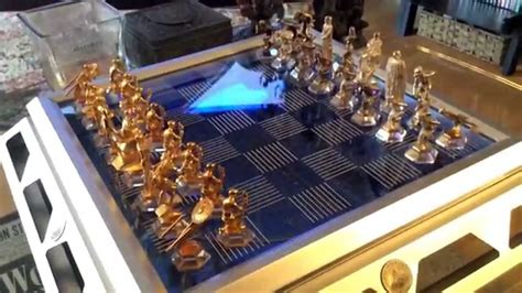 trek 25th anniversary collectors chess set from the