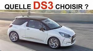 Quelle Cheville Choisir : quelle ds3 choisir ~ Premium-room.com Idées de Décoration
