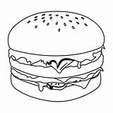 Hamburgers Freshies Fensterbilder Pusheen Bestcoloringpagesforkids Hamburguesa sketch template