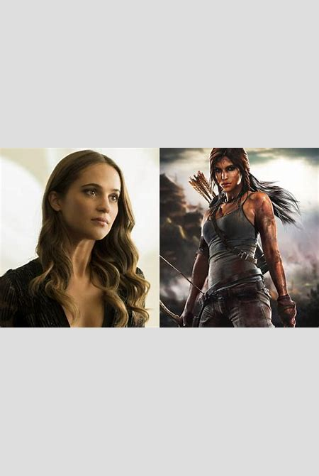 Alicia Vikander is Lara Croft in TOMB RAIDER Reboot — GeekTyrant