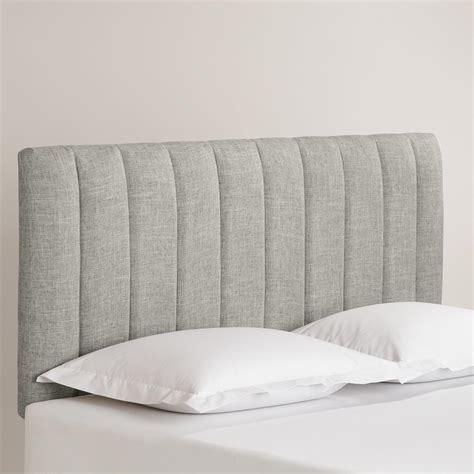 Linen Reilly Upholstered Headboard World Market