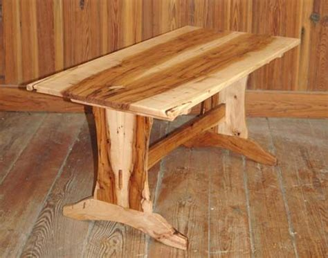 pecan wood coffee table trestle table woodworking plans texas pecan trestle