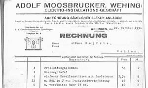 Handwerker Stellt Keine Rechnung Verjährung : geschichte elektrotechnik moosbrucker ~ Themetempest.com Abrechnung