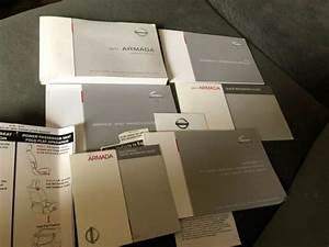 2011 Nissan Armada Owners Manual Set Oem