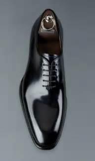 New Handmade Simple Plain Black Genuine Leather Shoes , Men leather Shoes Laces