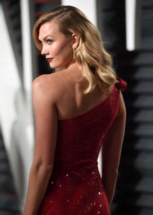 Karlie Kloss Vanity Fair Oscar Party Gotceleb