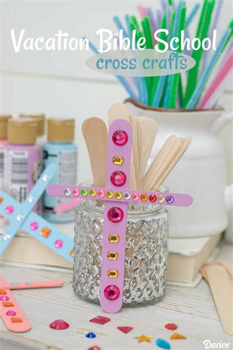 Cross Craft Ideas For Vacation Bible School Darice