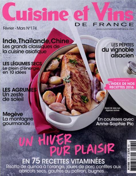 magazine cuisine en ligne abonnement cuisine et vins de abonnement magazine