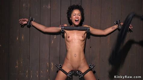 Ebony Gets Orgasm In Device Bondage Free Porn Sex Videos XXX Movies
