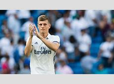Real Madrid and Germany midfielder Toni Kroos not planning