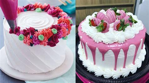amazing cakes decorating techniques compilation