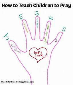 How to Teach Children to Pray