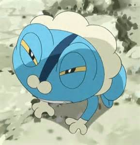 Pokemon Froakie Anime