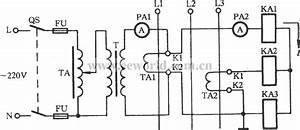 Line Lamp Transformer Checking Current Transformer Circuit