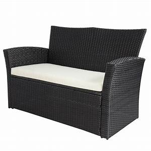 4pc Outdoor Patio Garden Furniture Wicker Rattan Sofa Set ...