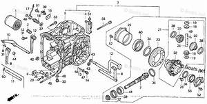 Honda Compact Tractor Parts H6522 A4 Vin  Tzad
