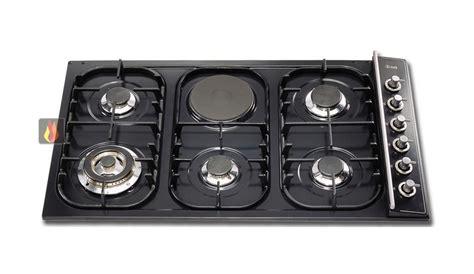 plaque de cuisson mixte 90 cm encastrable 5 foyers gaz et 1 foyer 233 lectrique ilve ec ilv332