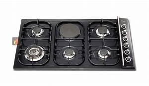 Plaque De Cuisson Gaz Et électrique : plaque de cuisson mixte 90 cm encastrable 5 foyers gaz et ~ Dailycaller-alerts.com Idées de Décoration