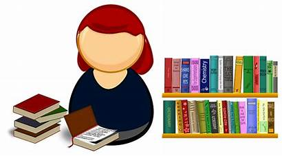 Librarian Clipart Library Svg Books Librarians Overdue
