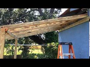 Shed extension - YouTube