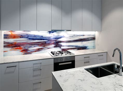 bathroom wall ideas printed on glass splashback vr glass