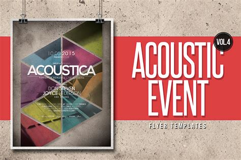 Acoustic Event Flyer Templates Vol.4