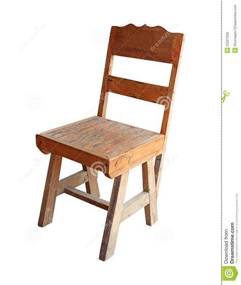 vieux bureau bois en bois classique blanc d 39 isolement vieux par bureau