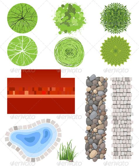 elements of landscape design landscape plan psd 187 tinkytyler org stock photos graphics