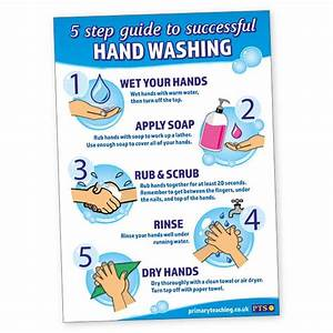 5 Step Guide To Successful Hand Washing