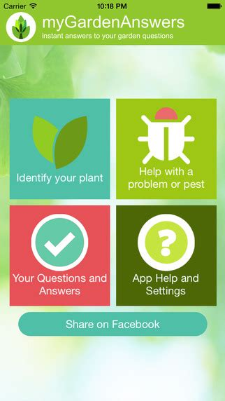 Garden Answers App by Top 5 Garden Gadgets Airband Business