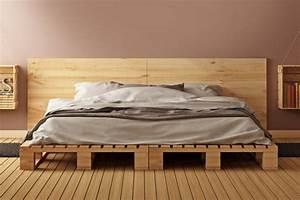 Bett Auf Boden : w nde mit holz gestalten ideen alternativen wandtrends ~ Markanthonyermac.com Haus und Dekorationen