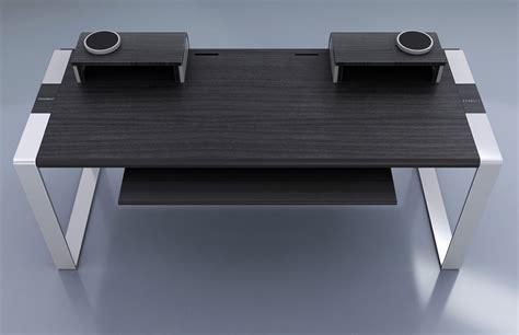 bureau pour home studio bureau en 233 b 232 ne et aluminium pour home studio et mao modson konnect audiofanzine