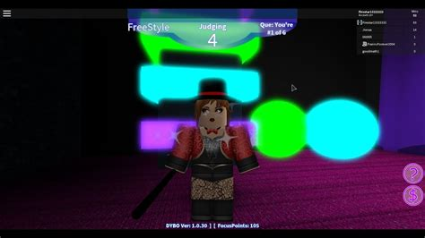 roblox dance  blox  circus freestyle part
