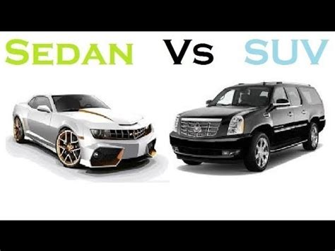 Difference Between Hatchback And Station Wagon by Suv Vs Sedan Which One Is Compare Cars